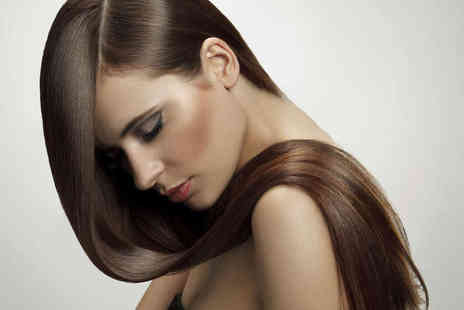 Urban Hair and Spa - Haircut and Finish with Hair Repair Treatment or with Half Head Highlights or Full Head Colour  - Save 58%