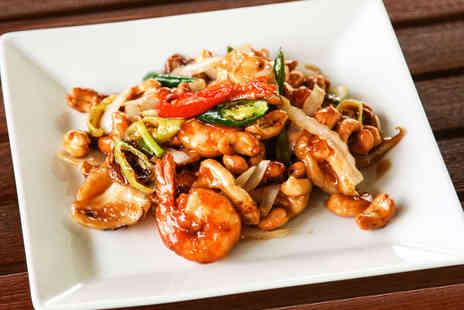 Mei Ling Chinese Restaurant - Sharing Platter and Main Course with Rice for Two  - Save 53%