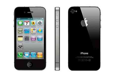 Smart Cherry mobiles - Refurbished Apple iPhone 4 16GB or 32GB - Save 68%