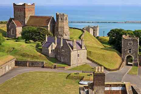 Luxury Travels and Tours - Luxury Leeds Castle, Canterbury & Dover coach tour - Save 57%