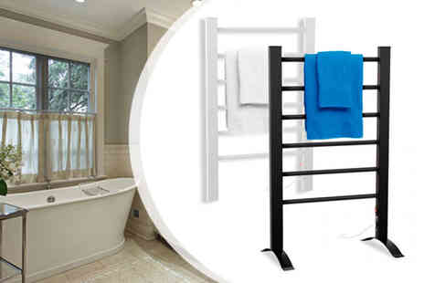 Delizius Deluxe - Eco Electric Heated Towel Rail - Save 31%