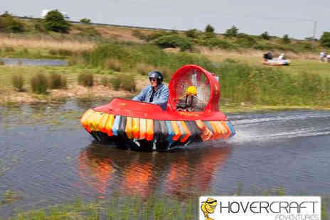 Hovercraft Adventures - Hovercraft Experience for One - Save 63%