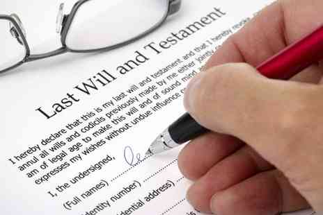Simple Wills - Single Will Writing Service - Save 52%