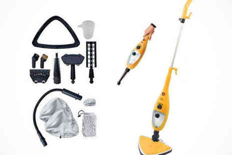 Saproducts - 9 in 1 Steam Mop - Save 61%