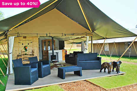 Elephant Lodge - A Safari Experience in the Wilds of Kent - Save 40%