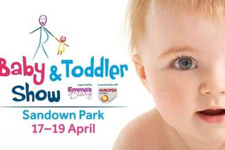 Baby and Toddler Show Bluewater - Baby and Toddler Show Entry For Two - Save 45%