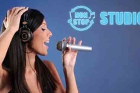 Non Stop Studios - Studio Recording Session For One or Two With CD Each - Save 81%