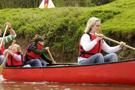 Tipi Adventure - Escape with Two nights in Herefordshire with canoeing or archery - Save 72%