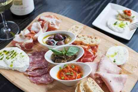 Veeno Italian Wine Cafe - Wine Tasting & Sharing Platter for Two - Save 52%