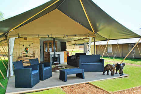 Elephant Lodge  - Four Night Midweek or Three Night Weekend Safari Glamping Experience  - Save 40%