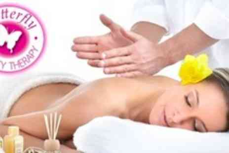Butterfly Beauty Therapy - Pamper Party for Two With Choice of Two Treatments Each Plus Bubbly and Chocolates - Save 60%