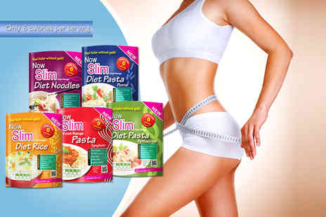 Now Slim - 50 meal pack of NowSlim diet pasta, rice and noodles - Save 67%
