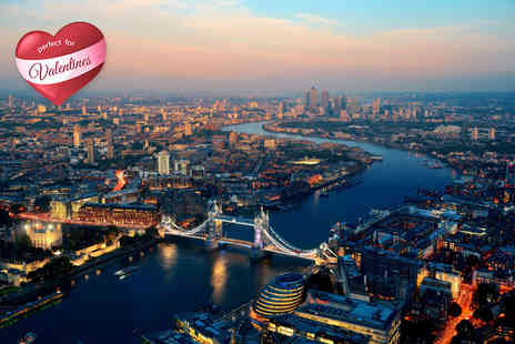 Altitude London - Valentines evening at Millbank Tower including cocktail, Three course meal & cinema - Save 31%