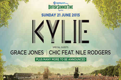 AEG Live UK - Presale Tickets to Kylie at Barclaycard Presents British Summer Time Hyde Park - Save 0%