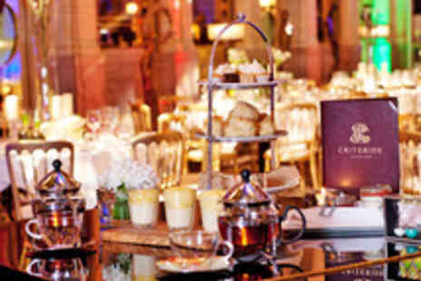 Criterion Restaurant - Traditional Afternoon Tea with Champagne Cocktail for One  - Save 37%