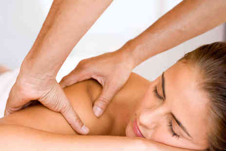Beauty Station - Back, Neck, and Shoulder Massage with Cleanse and Exfoliation or Facial  - Save 67%