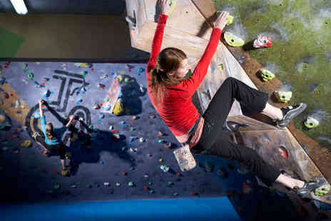 The Climbing Academy - Bouldering Induction and Three Follow-Up Sessions for One  - Save 74%