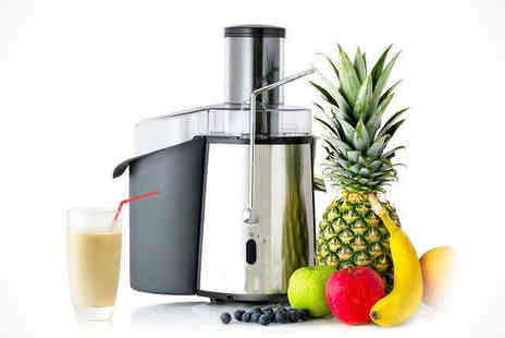 Saproducts  - Stainless Steel Whole Fruit Juicer - Save 67%
