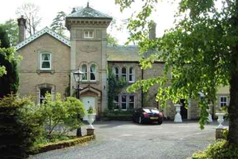 Nent Hall Country House -  Two Night Escape with Breakfast & Upgrade - Save 54%