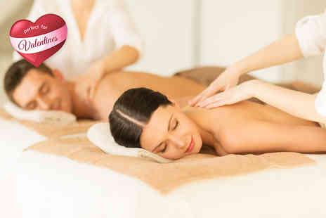 Skin & Tonic - Couples pamper package including bubbly and chocolates  - Save 51%