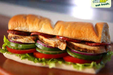 Subway - Foot Long Sub, Drink, and Cookie or Crisps for One  - Save 0%