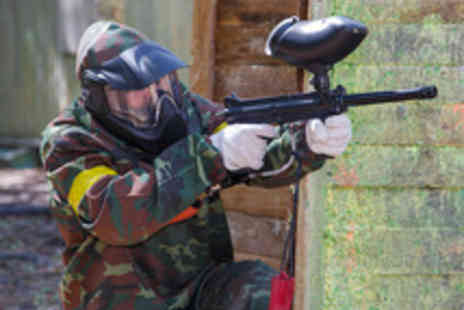 Blind Fire Paintball - A Full Day of Paintballing with 100 Paintballs - Save 85%