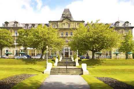 The Palace Hotel Buxton - One Night Stay For Two With Breakfast, Dinner, Wine and Leisure Club Access  - Save 0%