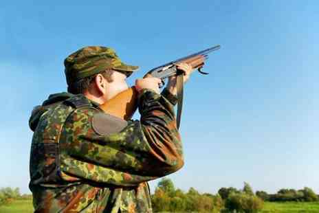 Kelly Country Sports - Clay pigeon taster experience for Two including seasonal refreshments  - Save 57%