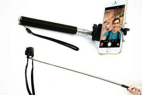 Saproducts - Extendable Bluetooth Selfie Stick - Save 70%