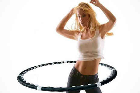 Saproducts  - Weighted Fitness Hula Hoop with Magnetic Balls - Save 65%