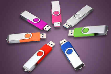 J & S Wholesales - 32GB Foldable USB Drive in 7 Colours  - Save 77%