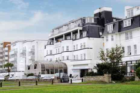The Suncliff Hotel - Bournemouth Hotel Stay with Dinner - Save 71%