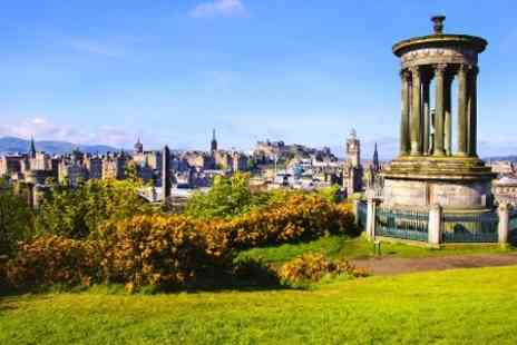 Britannia Hotel Edinburgh - One Night stay For Two With Breakfast and Bottle of Wine  - Save 0%