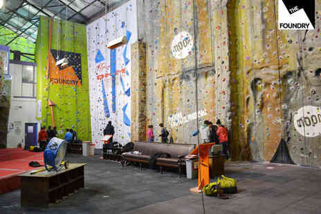 The Foundry Climbing Centre - Junior Climbing Party - Save 51%