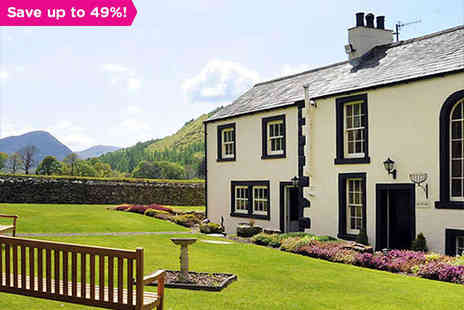 New House Farm - One Night stay for Two With Full English Breakfast  - Save 49%