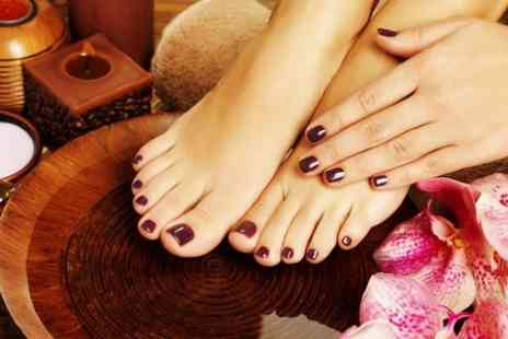 Kensington Skin Care - Signature Manicure or Spa Pedicure  or Both  - Save 40%