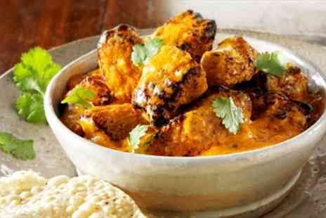The Britannia Spice Restaurant - Award Winning Indian Dinner & Sides for Two  - Save 44%