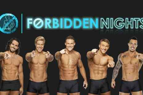 Forbidden Nights - Male Variety Show Plus Cocktail and VIP Club Entry  - Save 48%