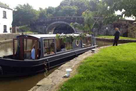 Lancashire Canal Cruises -  90 minute afternoon tea boat cruise for Two with bubbly - Save 0%