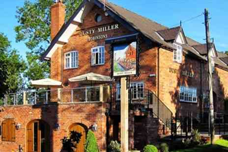 The Dusty Miller -  Steak & Bubbly for 2 at 18th Century Mill - Save 46%