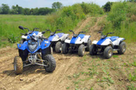 KJB Quadcross - Five MIle Woodland Quad Bike Experience - Save 67%