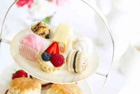 Stratton House Hotel - Afternoon tea with sparkling wine for two  - Save 0%