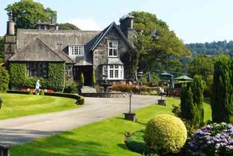 Broadoaks Country House -  Lake District Stay with Gourmet Dinner - Save 47%