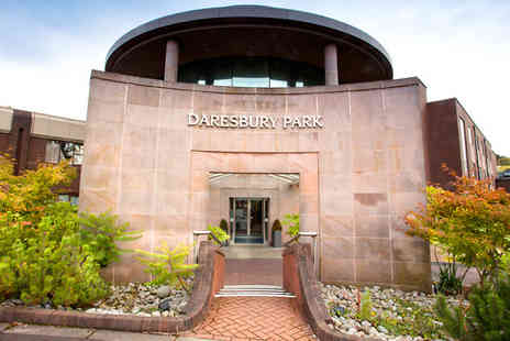 Daresbury Park Hotel -  One night B&B stay with an option of afternoon tea or dinner and spa access  - Save 0%