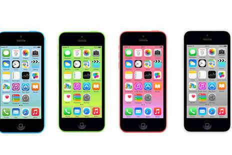 Smart Cherry mobiles - iPhone 5c in a Choice of 4 Colours - Save 55%
