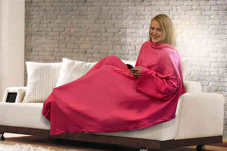 Excess Retail  - Pink snuggle blanket  - Save 67%