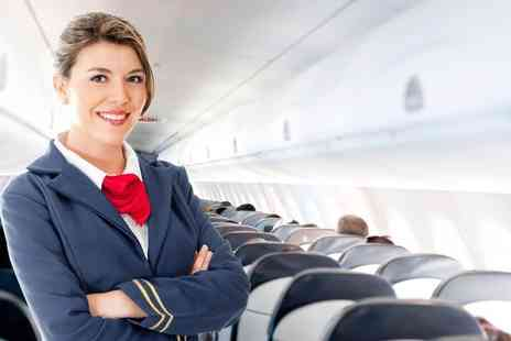 Cabin Crew Recruitment - Online cabin crew diploma for a 1 day intensive course - Save 81%