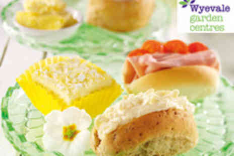Wyevale Garden Centres - Wyevale Garden Centres  Indulgent Afternoon Tea for Two - Save 47%