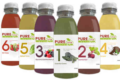 Pure Viva Cleanse  - Three Day Juice Cleanse Programme - Save 35%