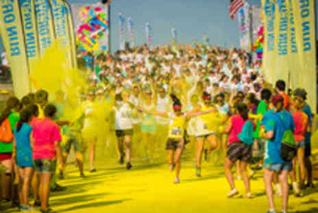 Human Race - Entry to the 5K Run or Dye Colour Run  - Save 20%